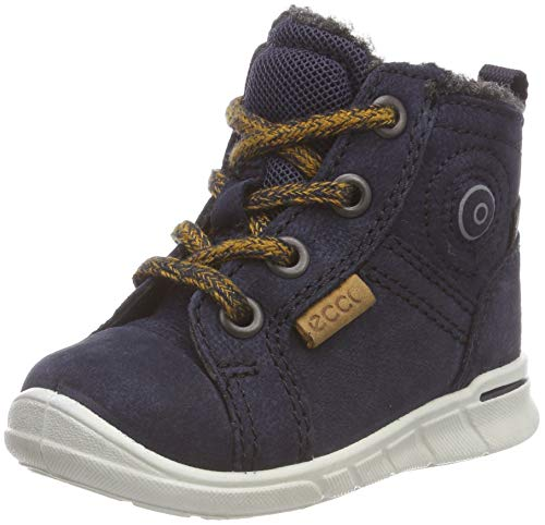 ECCO Baby Jungen First Sneaker, Blau (NGHT Sky 1303), 24 EU