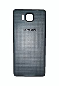 Wise Guys Battery Back Door Panel Replacement Cover for Samsung Galaxy Alpha G850 - Grey