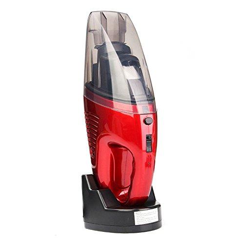 SODIAL 60 Watt Eu-stecker Schnurlose Mini Tragbare Staubsauger Fuer Auto Trocken Nass Hand Super Saug Staubsammler Reinigung