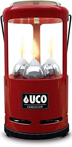 UCO Alu Candlelier, rot, 642007
