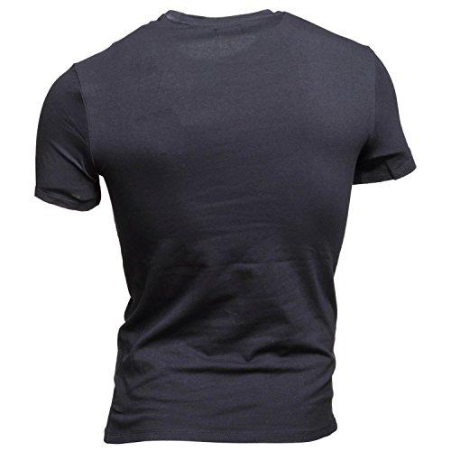 Guess M82I17 J1300 Intruder Tee T-Shirt Harren Black
