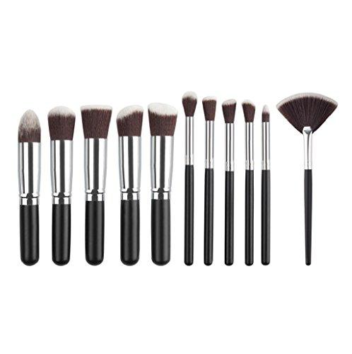 kit de Brochas Sannysis set de Brochas para maquillaje facial 11PCS (06)