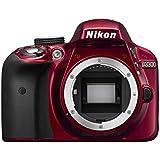 Nikon D3300 Appareil photo numérique Reflex 24,2 Mpix Kit Objectif AF-P 18-55 mm VR Rouge