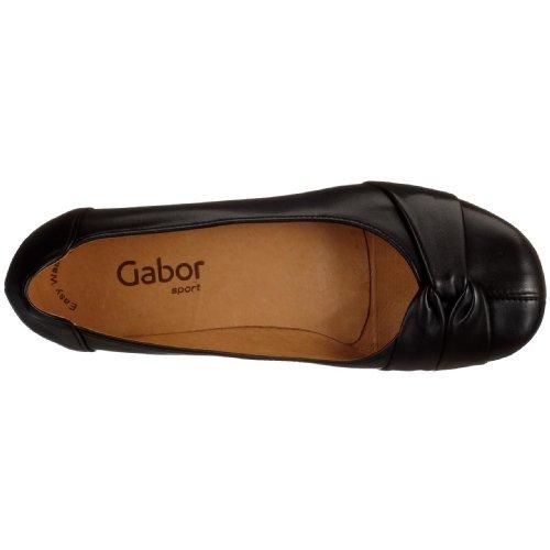 Gabor Frost, Ballerines Femme Noir