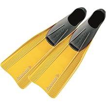 Cressi Clio - Aletas, color amarillo, talla 37-38