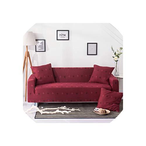 Sofa Slipcovers Futon Elastic Slipcovers Für Sessel Schutz Sofa-Satz für Wohnzimmer Couch Cover, Farbe 20,1-Seater (90-140cm) -