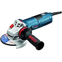 Bosch GWS 13-125 CIE Professional - Amoladora angular, disco 125 mm, 2800 - 11500 rpm, 1300 W, color negro y azul