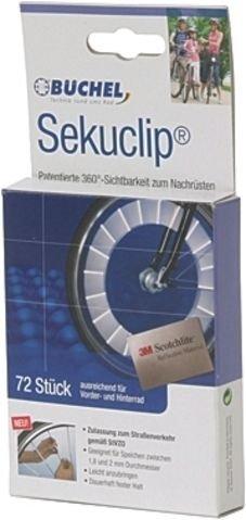 3M Scotchlight 72 Stück Speichensticks StVZO zugelassen. Tüv-geprüft