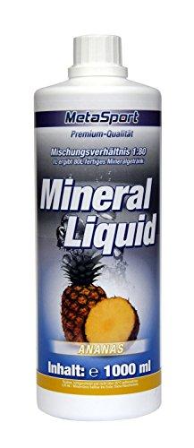 MetaSport Mineral Liquid + L-Carnitin + Magnesium, 1:80, 1000 ml Flasche