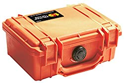 Pelican 1120 Case With Foam (Camera, Multi-purpose) - Orange