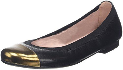 Pretty Ballerinas 37190 Mirrow Ottone/Coton Negro, Ballerine Donna, Black (Black), 41 EU