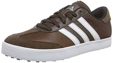 adidas Adicross V, Men's Golf Shoes, Brown (Brown/White/EQT Green), 13 UK (48.5 EU)