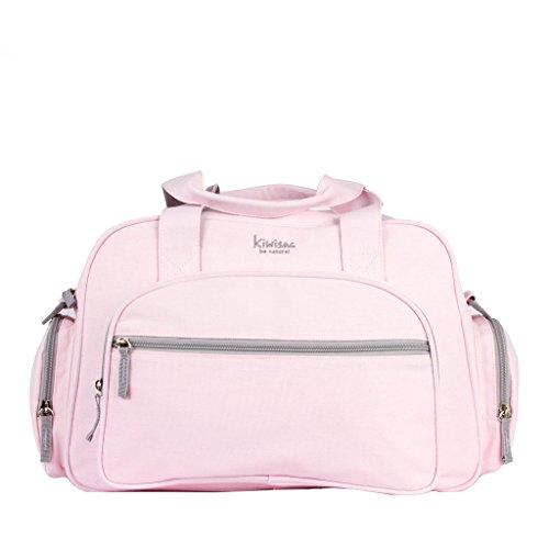Kiwisac Be Nature - Bolso maternal, color rosa