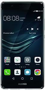 Huawei P9 Smartphone [UK-, Irlande  Version]  Titanium Grey