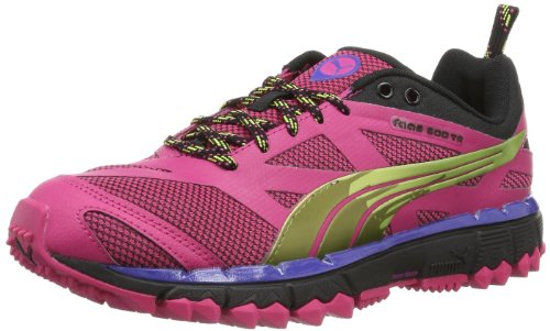 Puma Faas 500 Tr Wn's, Sneaker Donna rosa (Pink (beetroot purple-black-sunny lime 04))
