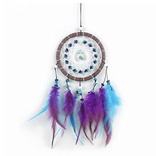 Jiahui Dream Catcher, Handgefertigt Traditionelle Feder Wand Hängende Dekoration Home Decor Ornament (Dream Decor Catcher Home)