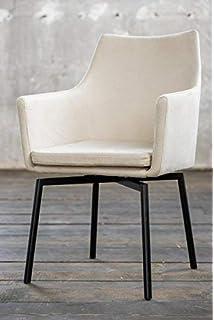 Loui Kawola SchwarzWeiß Sessel Kunstleder Stuhl Esszimmerstuhl F31cuTKlJ