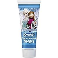 Oral-B Pro-Expert Stages Zahnpasta mit Figuren aus DisneysDie Eiskönigin- Völlig unverfroren, 3er Pack (3 x 75 ml)