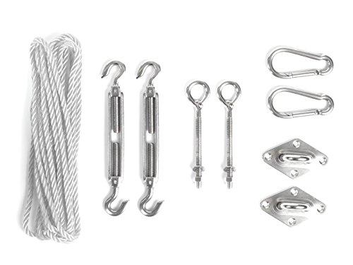 Celin Asun Parasole di fissaggio di montaggio montaggio in acciaio zincato