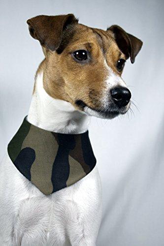 Halstuch Hund Tarnmuster Camouflage - 4