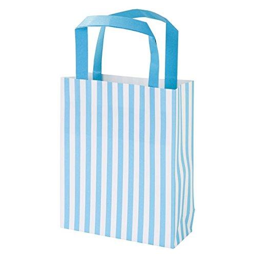 Talking Tables Mix und Match; Papier-Partytüten für Süßigkeiten für Geburtstage, Hochzeiten und Geschenke, Blau (8 pro Pack)