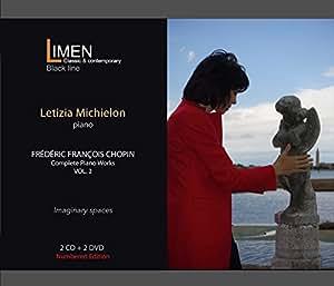 Frédéric Francois Chopin - Complete Piano Works Vol. 2 (2CD+DVD) - Letizia Michielon