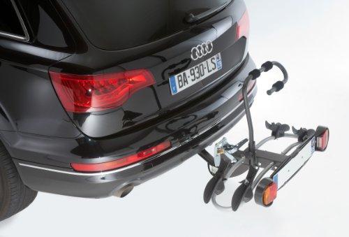 Unbekannt Mottez A018P2RA Fahrradträger auf Anhängerkupplung- 2 Fahrräder – Premium Plattform