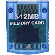 Carte mémoire pour Nintendo Wii NGC GameCube Console 4MB-512MB ( Capacity : 512MB )