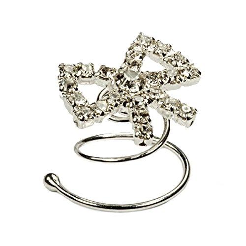 Joyas-para-pelo-6-espirales-accesorios-para-boda-novia-pav-de-Swarovski-plateado-con-bao-de-rodio