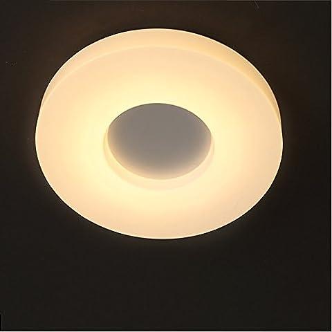YUPD@Lampada da soffitto Plafoniere Plafoniera circolare ciambella , white (Acquario Light Fixtures)