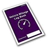 Business Mileage Log Book - HMRC Compliant Vehicle Record - Car, Van, LGV HGV