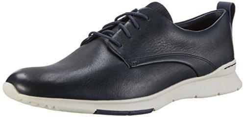 Clarks Tynamo Walk, Zapatillas para Hombre, Azul (Blue Suede), 43 EU