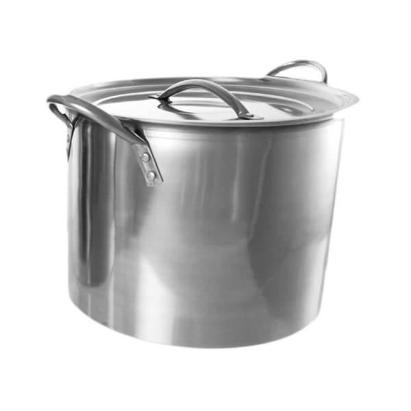 Buckingham Stock Pot with Stainless Steel Lid 26 cm, 11 L 41p7ddN4qCL