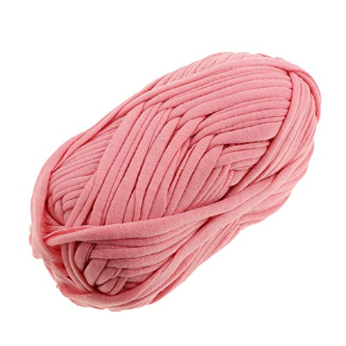 perfk 100g Textilgarn zum Häkeln und Stricken, Jerseygarn Häkelfaden für Handwerk DIY Projekte - 20 -