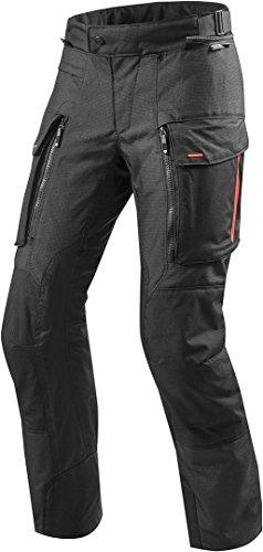 REV'IT! Motorradschutzhose, Motorradhose, Bikerhose Sand 3 Textilhose schwarz L (lang), Herren, Enduro/Reiseenduro, Ganzjährig