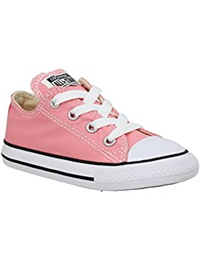 Converse Chuck Taylor All Star Ox Daybreak Pink Textile Junior Trainers