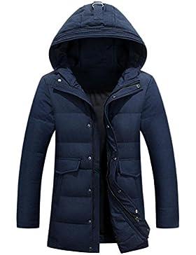 MHGAO Chaqueta de la ropa de invierno de los nuevos hombres de Down , blue , xxl
