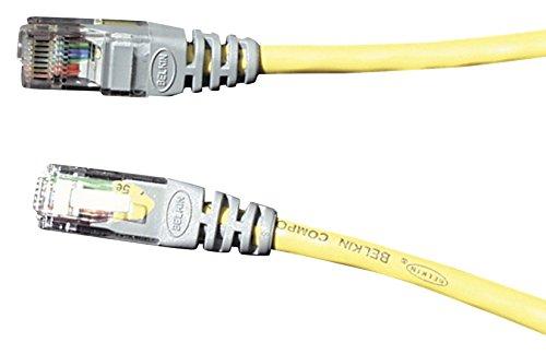 Belkin Cat5 UTP Crossover Kabel 3m gelb -