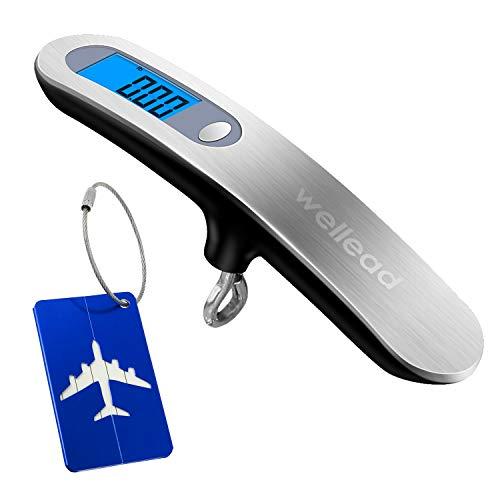 Nunca miedo de exceso de equipaje, la práctica gepäckwaage Travel es universal, manejable y móvil., siempre einkaufstasche o simplemente reisegepäck-es fácil y sencillo si en casa o de viaje, para mochila a mano