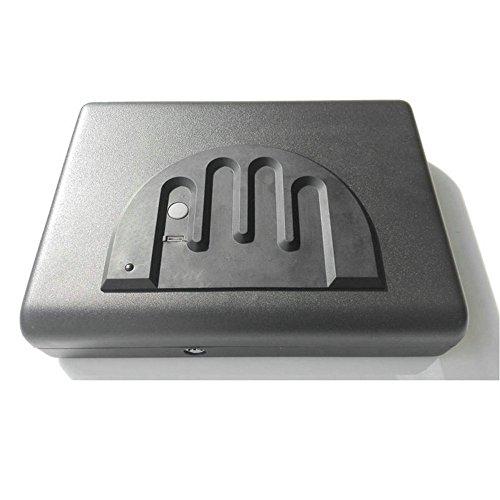 HAIT Portable Biometrische Fingerabdruck-Box Schmuck Pistole Sicher Im Schlafzimmer Auto Versteckt -