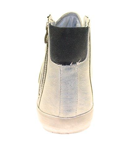 More Styling , Hi-Top Sneakers homme Beige - Beige