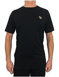 Paul Smith PS by Men's Crew Neck Zebra T-Shirt Black
