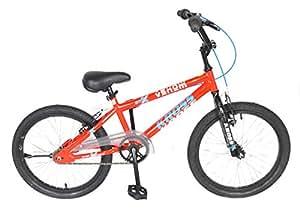 Kross Steel Kids Venom Sporty Single Speed Bike, Age of 7-9Yrs (Red, 20 inch)