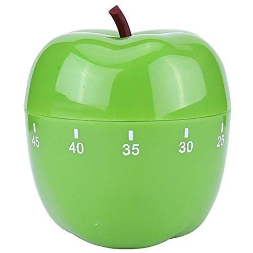 Timer da cucina in plastica mela