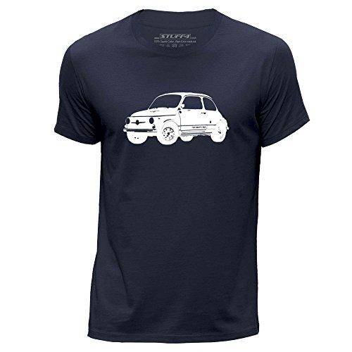 stuff4-hommes-xxx-grande-3xl-bleu-marin-col-rond-t-shirt-stencil-art-de-voiture-695-ss