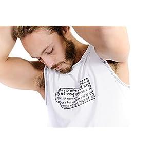 Herren Yoga Tank Top in Bio Baumwolle mit Lycra–Shakti–Stretch mit Komfort