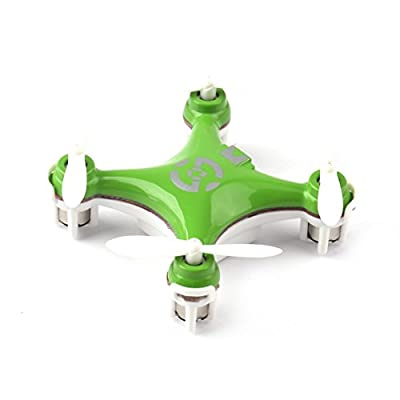 FPVRC Cheerson CX-10 Mini RC Quadcopter 2.4G 4CH 6 Axis Gyro Nano Drone with Headless Mode, 360 Degree Flips and LED Lights