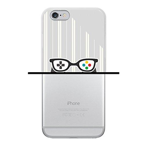 iPhone 6 6S Hülle, WoowCase Handyhülle Silikon für [ iPhone 6 6S ] Coloriertes Graffiti Handytasche Handy Cover Case Schutzhülle Flexible TPU - Transparent Hülle iPhone 6 6S iPhone 6 6S D0476