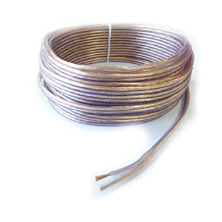 Classic Speaker Cables, 100% Copper, 2 x 1.5 mm², 10 M