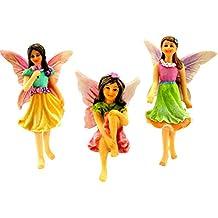 Juego de figuras de hadas para jardín – Hadas de jardín en miniatura, ...